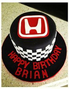 Honda Birthday Cake