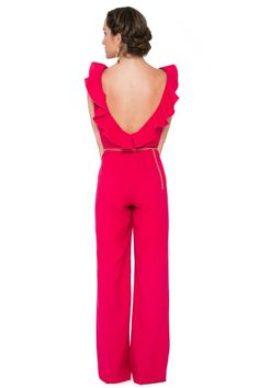 Discover recipes, home ideas, style inspiration and other ideas to try. Outfits 2016, Cute Outfits, Jumpsuit Elegante, Wedding Jumpsuit, Evening Attire, Jumpsuit Outfit, Lauren, Lovely Dresses, Colorful Fashion