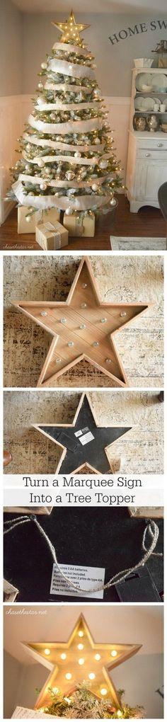 35+ Cool DIY Rustic Christmas Decoration Ideas & Tutorials