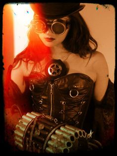 Molly Guns  MySteampunkArmy  Photographer:  Tommy Roberson  MUA:  Varla Skye