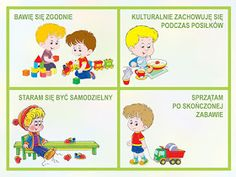 """MY LIFE, MY PASSION, MY CHOICE..."": KODEKS PRZEDSZKOLAKA - ZNAMY ZASADY PRAWIDŁOWEGO ZACHOWANIA! :) Diy And Crafts, Crafts For Kids, Polish Language, My Passion, Kids And Parenting, Preschool, How To Plan, Education, Comics"