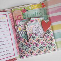 239 Likes, 9 Comments - K Mini Scrapbook Albums, Scrapbook Paper Crafts, Libros Pop-up, Snail Mail Pen Pals, Fun Mail, Mini Happy Planner, Envelope Art, Pocket Letters, Happy Mail