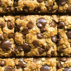 Healthy Vegan Gluten-Free Oatmeal Cookie Bars made with just 5 ingredients! No flour, no eggs and no refined sugar- They are soft, chewy and gooey in one! 12 minutes and 5 ingredients! Vegan Gluten Free Cookies, Gluten Free Oatmeal, Gluten Free Baking, Vegan Baking, Gluten Free Desserts, Vegan Desserts, Dessert Recipes, Diabetic Desserts, Diabetic Recipes