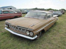 1959 Chevrolet Belair 4dr HT | Proxibid Auctions