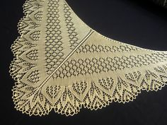Knitting Stories by Venera: Льняной палантин и шелковая шаль!