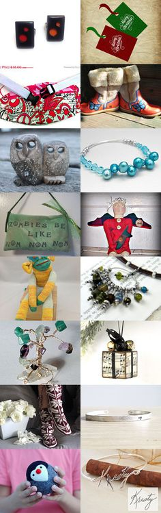 My Pretties! by Erinn LaMattery on Etsy--Pinned with TreasuryPin.com #EtsyTreasury #handmadeGift #ChristmasGift