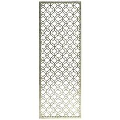 Right side entry wall 3 Trellis Wall Panels - 22x60 each