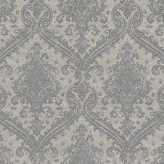 Tapeta RASCH FILIGRANO 964738, kolory beżowa szarość Damask, Quilts, Blanket, Wall Art, Rugs, Ornament, Design, Home Decor, Products