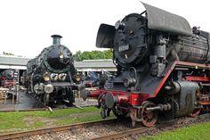Gegensätze Foto & Bild   historische eisenbahnen, dampf-, diesel- und e-loks, museale bahnen + sonderfahrten Bilder auf fotocommunity