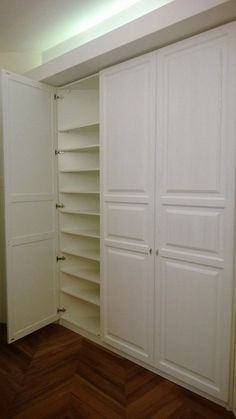Smart Closet, Hidden Closet, Wall Storage, Built In Storage, Tall Cabinet Storage, Hawthorne House, Built In Cabinets, Room Interior Design, Closet Bedroom