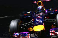 Daniel Ricciardo, Red Bull, Monte-Carlo, Thursday practice, 2014