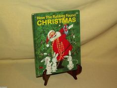 HOW THE RABBITS FOUND CHRISTMAS DECEMBER ANN SCOTT WONDER 866 1961 GREEN COVER