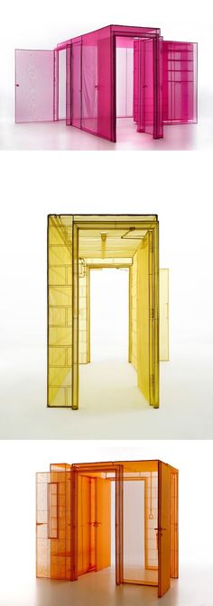 Artist Do Ho Suh // installation art // site specific installation