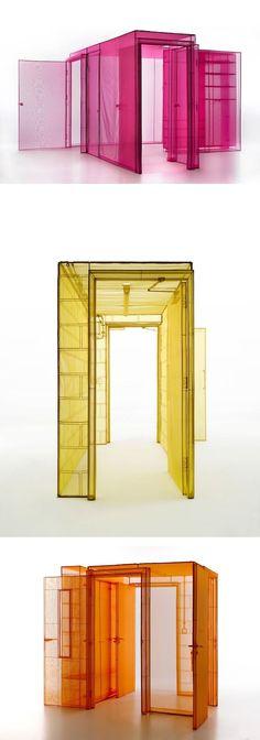 Artist Do Ho Suh // installation art // site specific installation