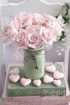 Ana Rosa / flowers / hearts