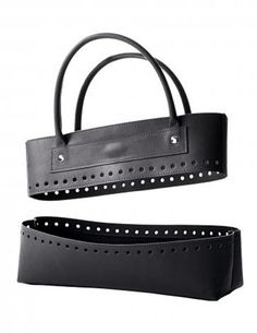 Leather Effect Bag Kit - Noir | Deramores