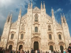 Milan in comparison to Venice almost seemed like a different world. Milan is such a metropolitan, professional city with everyone having places to be and people to see. Milan Cathedral, Barcelona Cathedral, City Life, Venice, World, Building, Places, Travel, The World