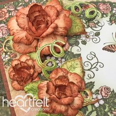 How to Create Dimensional Cards with the Classic Rose - Heartfelt Creations