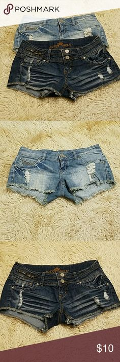 Bundle on shorts! Almost famous distressed cut off shorts!  Good condition! Almost Famous Shorts