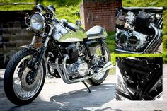 Café Racer Showcase - Reverb Motorcycles. Pictured is Lucille, based on a CB750 http://themanshed.cc/cafe-racer-showcase-reverb-motorcycles/