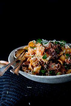 Slow Braised Beef Cheek Ragu with Parpadelle | The Brick Kitchen