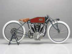 Excelcior Boardtrack-Racer R 1000cc OHC 1919 ( NL ) by vintage-revival on Flickr.