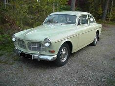 1968 Volvo. Accommodated 3 car seats perfectly.