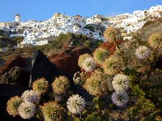 Oia on Santorini, Greece