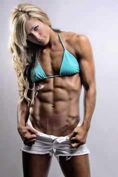 Olivia Moschetti ♠ ♥✯ Lean, Ripped & Defined ✯♥ ♠