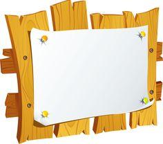 "Photo from album ""Таблички деревянные"" on Yandex. Kids Background, New Background Images, Page Borders Design, Border Design, Scrapbook Letters, Image Deco, School Frame, Powerpoint Background Design, New Backgrounds"
