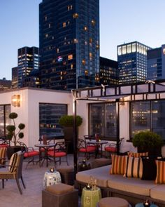 rooftop at The Peninsula