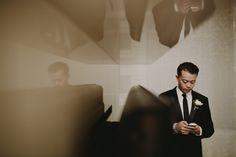 Classic Black & White Groomswear   Creative Wedding Photography   Andaz Wall Street   London NYC Brooklyn Wedding Photographer