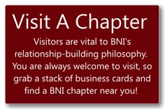 Pennsylvania Central - Chapter Details - #BNI BNI - Chambersburg  Every Wednesday at 8am Four Points Sheraton 1123 Lincoln Way East Chambersburg, PA