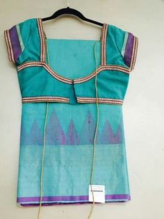 Ideas For Nails Simple Cute Kids Patch Work Blouse Designs, Best Blouse Designs, Simple Blouse Designs, Saree Blouse Neck Designs, Kurti Neck Designs, Blouse Neck Models, Designer Blouse Patterns, Siri, Hand Embroidery