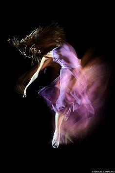 Slow motion danse