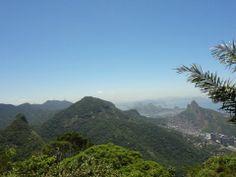 Vista do Rio pela Pedra da Gávea