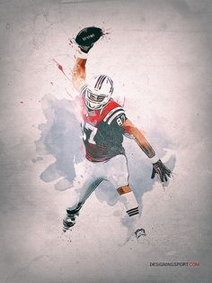 This Gronk spike awesomeness from designingsport just what we needed on a #Patriots Friday. designingsport:  Rob Gronkowski, New England Patriots