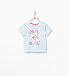 ZARA - KIDS - Spanish text T-shirt