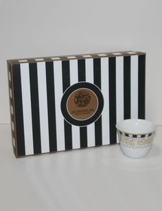 Decoration One Checkered Coffee Cups (Set of 6)