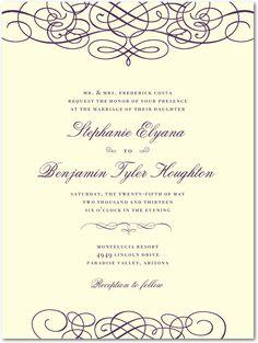 Love it!   http://www.weddingpaperdivas.com/product/10010/thermography_wedding_invitations_dreamy_scrolls.html#color/03/pid/10010