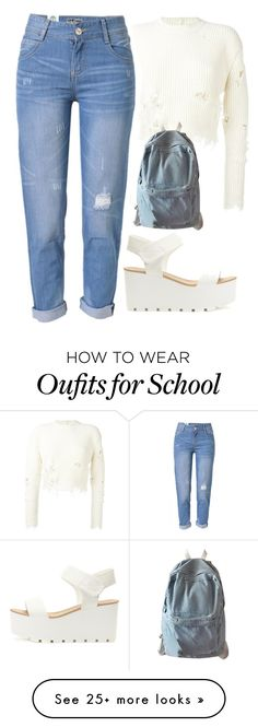 """""""Untitled #98"""" by kyalumomo on Polyvore featuring adidas Originals and WithChic"""