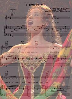 Think of Me Phantom of the Opera
