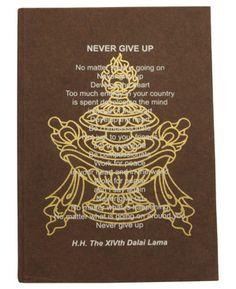 Handmade Dalai Lama Journal