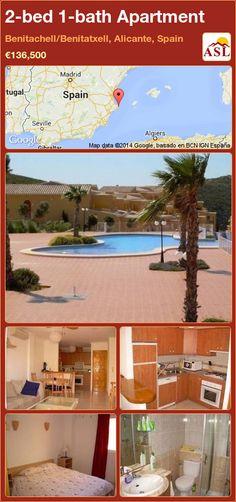 2-bed 1-bath Apartment in Benitachell/Benitatxell, Alicante, Spain ►€136,500 #PropertyForSaleInSpain