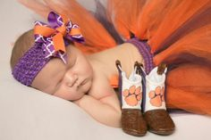 Clemson Girl - Welcome to the Clemson family Clemson Girl Palmer!