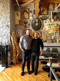 Shaun & Matt's Glam Loft — Pride at Home: House Tour Greatest Hits | Apartment Therapy