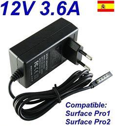 nice Cargador Corriente 12V 3.6A Reemplazo Tablet Microsoft Surface Pro1 Pro 1 Pro2 Pro 2 Wall Plug Pared Recambio Replacement Mas info: http://comprargangas.com/producto/cargador-corriente-12v-3-6a-reemplazo-tablet-microsoft-surface-pro1-pro-1-pro2-pro-2-wall-plug-pared-recambio-replacement/