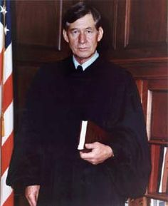 The Honorable Frank M. Johnson.  United States District Judge.  First judge to order names of qualified African Americans added to county voting rolls, he also wrote the first Alabama school desegregation decree. He outlawed discrimination in Alabama's libraries, transportation centers, and agricultural extension service.  A mentor and friend.