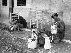 Oficios perdidos. El sillero y el latero. Portugal, Foto Madrid, Mark Rothko, Detail Art, Andalucia, Bilbao, Belle Epoque, Vintage Photography, Granada