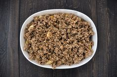Healthy and Delicious Gluten-Free Apple Crisp via http://lifeovereasy.com/ #recipe #dessert